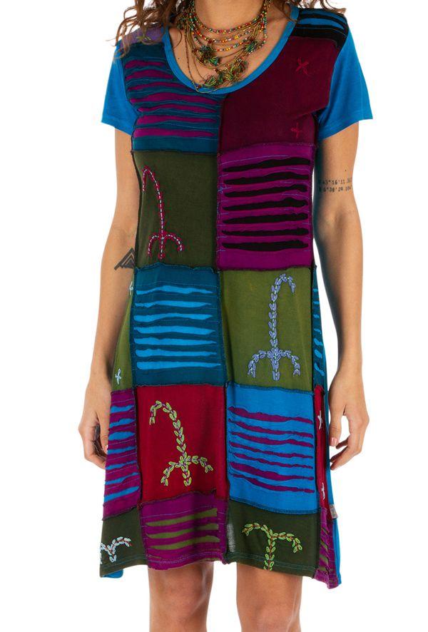 Robe d'été pour femme originale et pas chère Jimma multi 314224