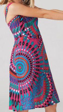 Robe d'été pour Fillette Originale et Ethnique Guady Rose 277330