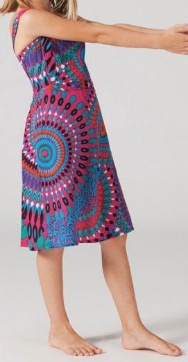 Robe d'été pour Fillette Originale et Ethnique Guady Rose 277331