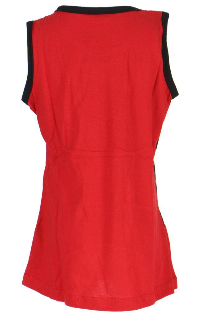 Robe d'été rouge pour petite fille Claudia 268627