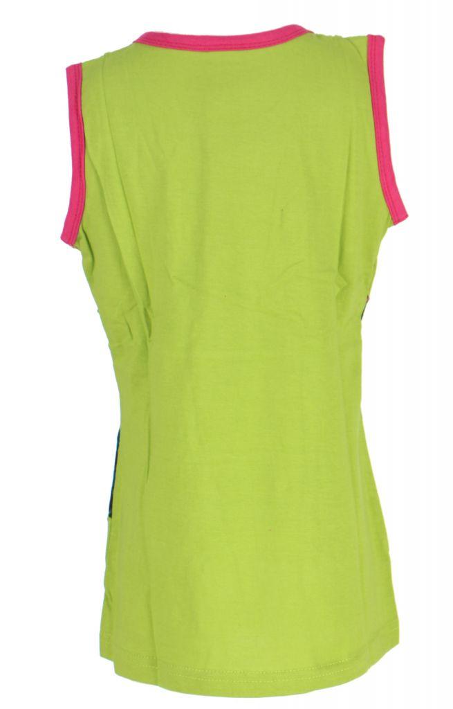 Robe d'été verte pour petite fille Claudia 268625
