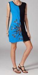 Robe de plage bleue Sadiha 269225