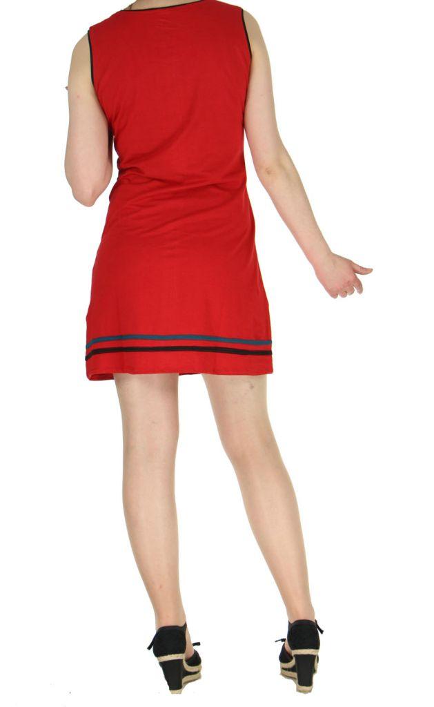Robe de plage rouge Fiona 268919