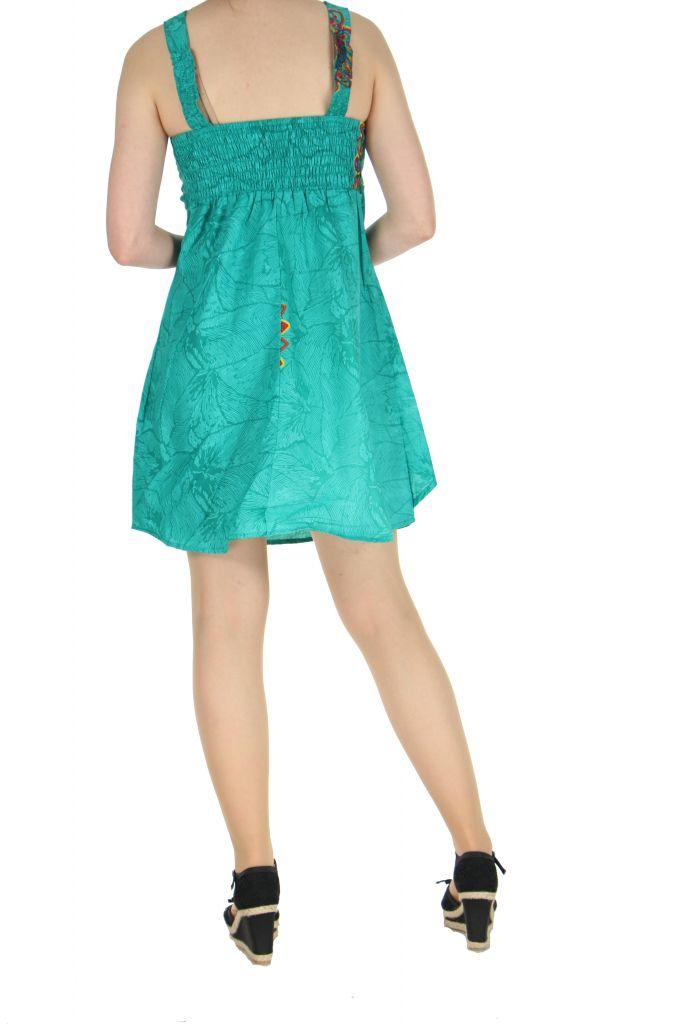 Robe de plage turquoise Ondie 268015