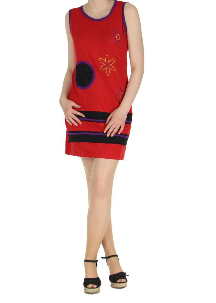 Robe du Népal rouge Florina 268328