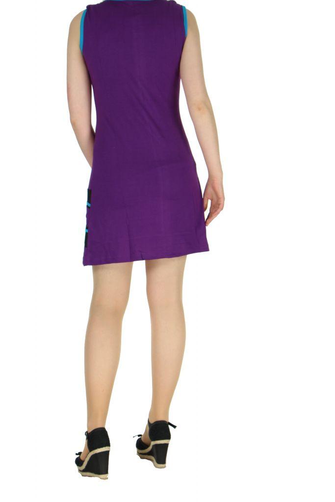 Robe du Népal violette Florina 268327