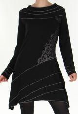 Robe esprit Tribal Asym�trique et Originale Tr�sor Noire 277973