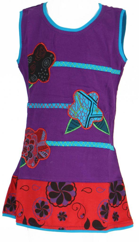 Robe été bébé fille violette Nana 269633