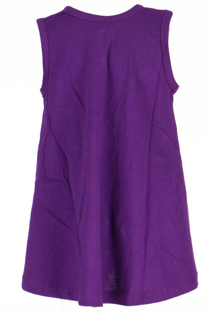 Robe ethnique bébé et fille violette Eléphant 270940