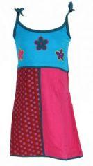 Robe ethnique et colorée enfant bleue Hippie 270987