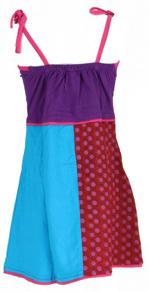 Robe ethnique et colorée enfant violette Hippie 270984