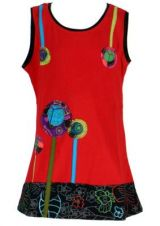 Robe ethnique fille rouge Ofelia 268590