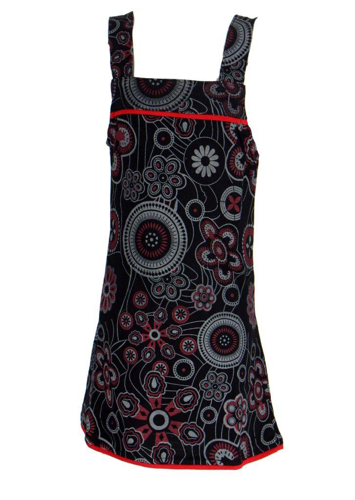 Robe ethnique imprimée pou fille noire Lucia 268599