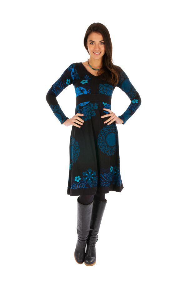 Robe ethnique pour femme colorée et bien dessinée Zara 312647