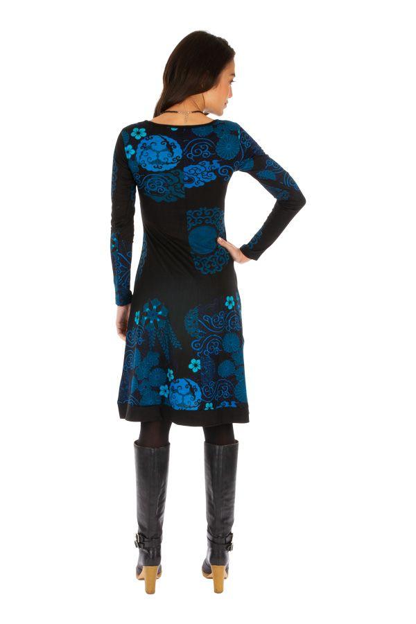 Robe ethnique pour femme colorée et bien dessinée Zara 312648