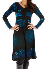 Robe ethnique pour femme colorée et bien dessinée Zara 312649