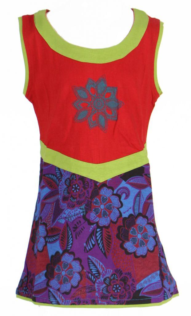 Robe fantaisie rouge pour fille Queen 269545