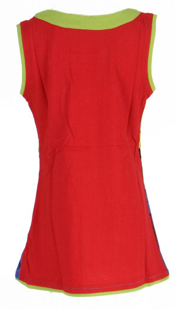 Robe fantaisie rouge pour fille Queen 269546
