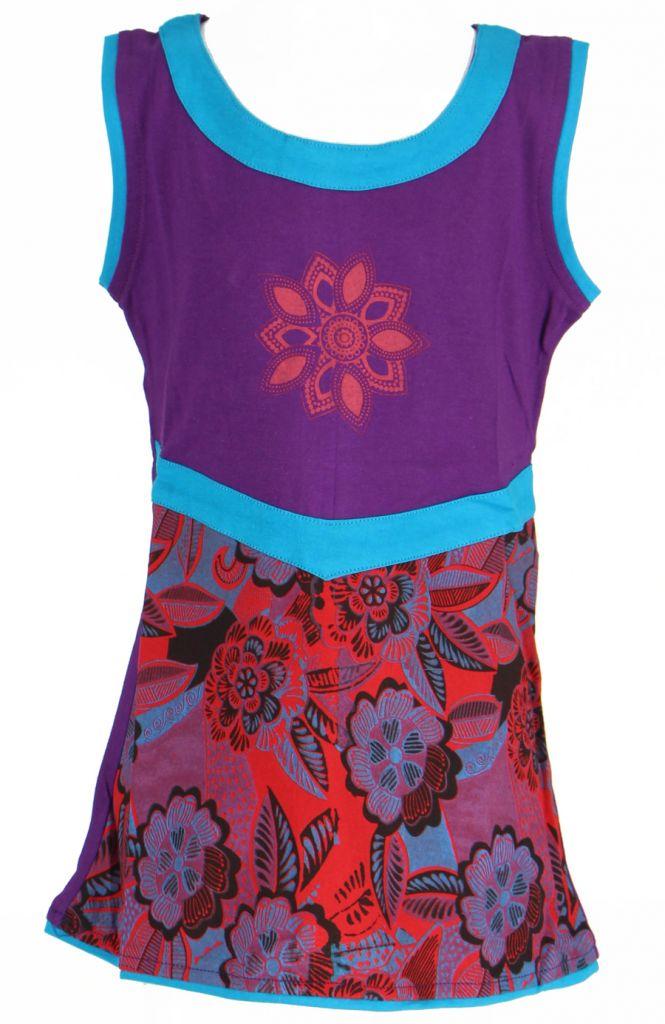 Robe fantaisie violette pour fille Queen 269535