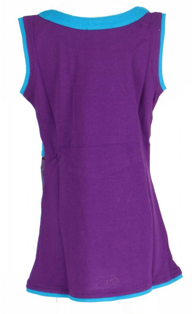 Robe fantaisie violette pour fille Queen 269536