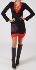 Robe femme courte Ethnique et Originale Juvina pour l'hiver 278676
