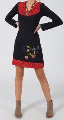 Robe femme courte Ethnique et Originale Manitasi pour l'hiver 278671
