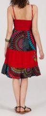 Robe femme d'été - ethnique et originale -  Rubis 271838