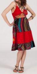 Robe femme d'été - ethnique et originale -  Rubis 271839