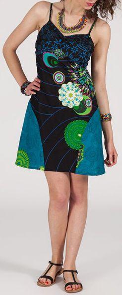 Robe femme d'été courte - ethnique et originale - Déborah 271904