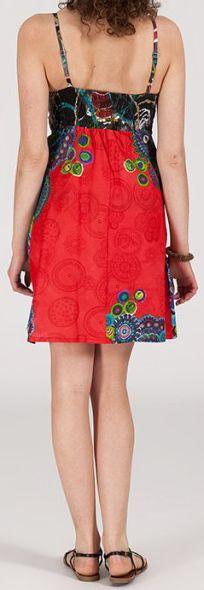 Robe femme d'été courte - ethnique et originale - Natalina 271911