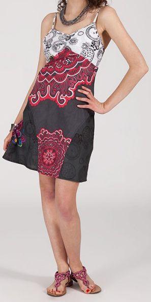 Robe femme d'été courte - ethnique et originale - Rosita 271906