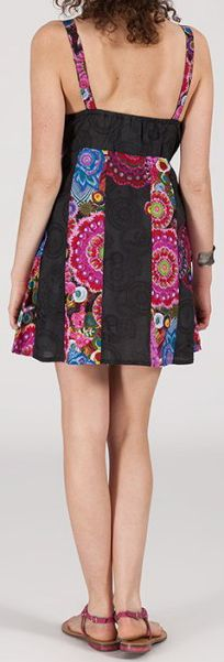 Robe femme d'été courte - ethnique et pas chère - Tosca 271952