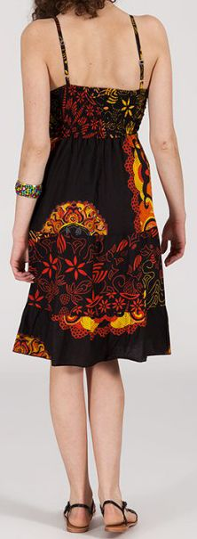 Robe femme d'été originale à col V Daisy 271830