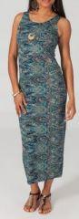 Robe femme longue pour un �t� color� Camil 4 271779