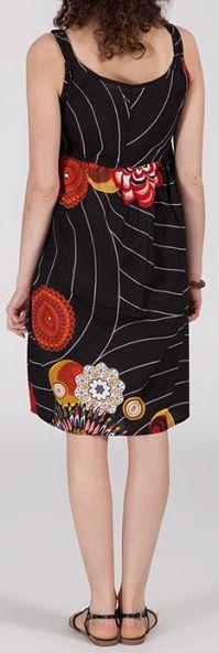 Robe femme mi-longue imprimée ethnique Yuna 271847