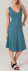 Robe femme mi-longue pour un �t� en couleur Lucine 2 271787