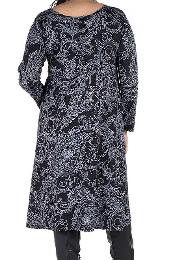 Robe femme réveillon imprimée baroque original 300615