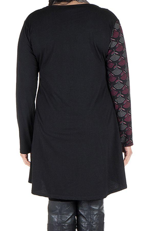 Robe femme ronde à col carré et imprimé originaux ethniques Lolita 302149
