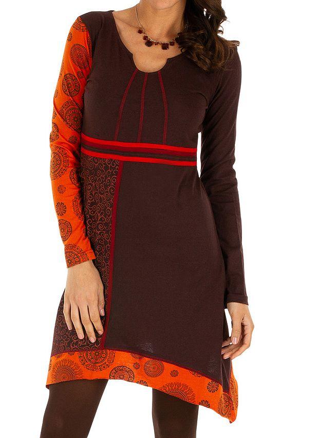 Robe femme tendance ethnique et pas cher Celya 312963