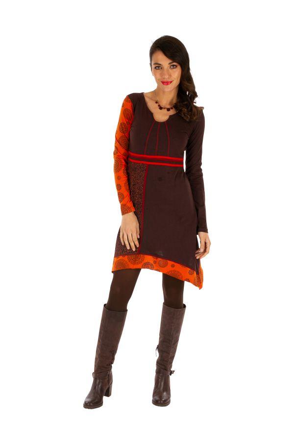 Robe femme tendance ethnique et pas cher Celya 312964