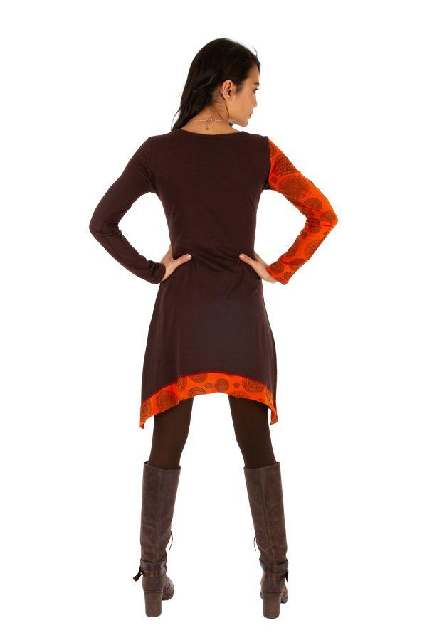 Robe femme tendance ethnique et pas cher Celya 312965
