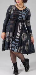 Robe grande taille Ethnique et Imprim�e Kaelia motifs Nature 274903