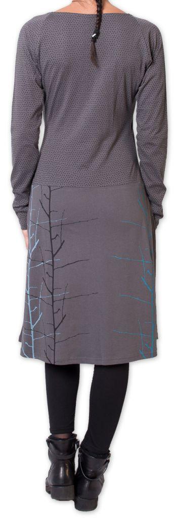 Robe Hiver col Cache Coeur Originale et Chic Lampa Grise 275832