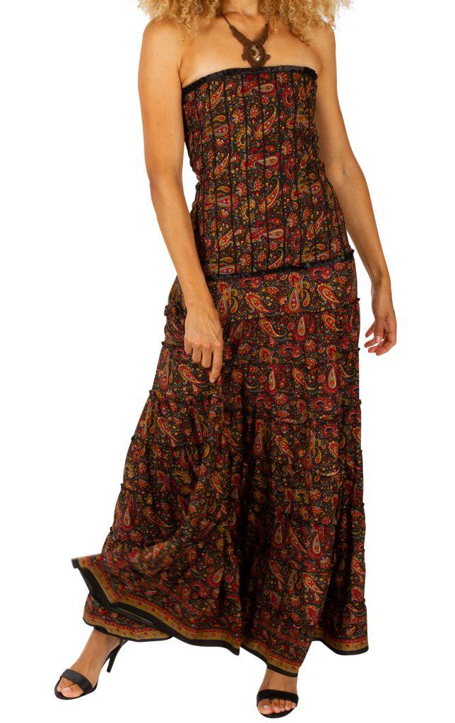 robe longue bustier ete