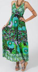 Robe longue ample d'été Imprimée et Colorée Patcha 279391