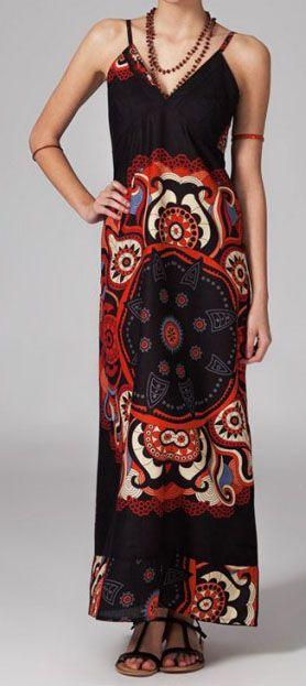 Robe longue bohème chic Gwen 270069