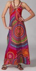 Robe longue boh�me Poppy 270056