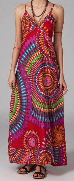 Robe longue bohème Poppy 270057