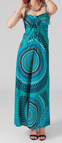 robe longue colore idale pour un mariage hinola - Robe Longue Colore