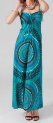 Robe longue color�e id�ale pour un mariage Hinola
